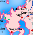 North-West Kyushu map